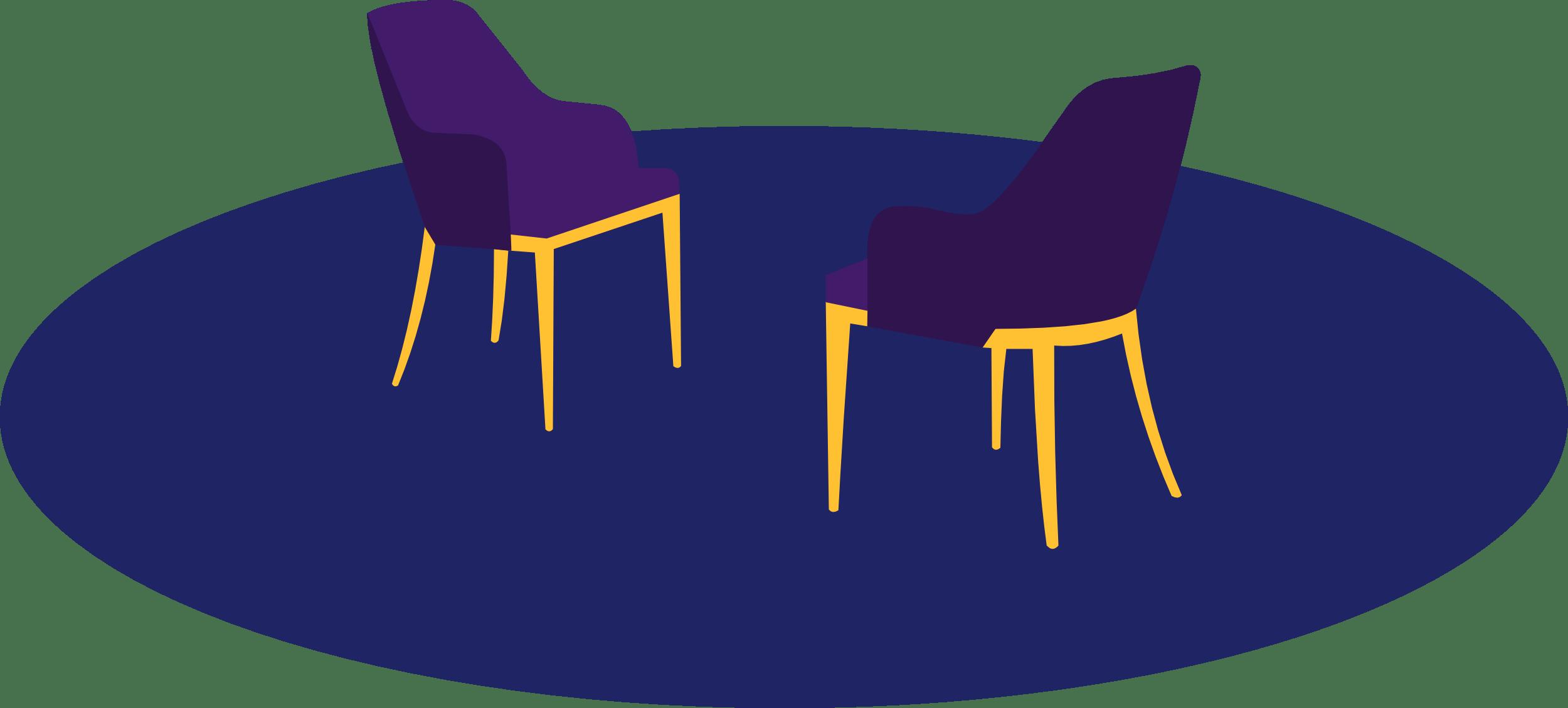 Chairs purple